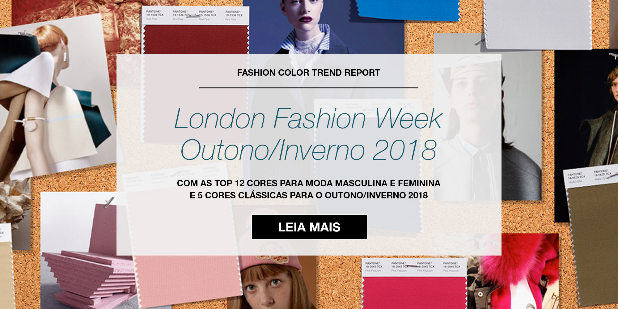 FCR - London Fashion Week Outono Inverno 2018