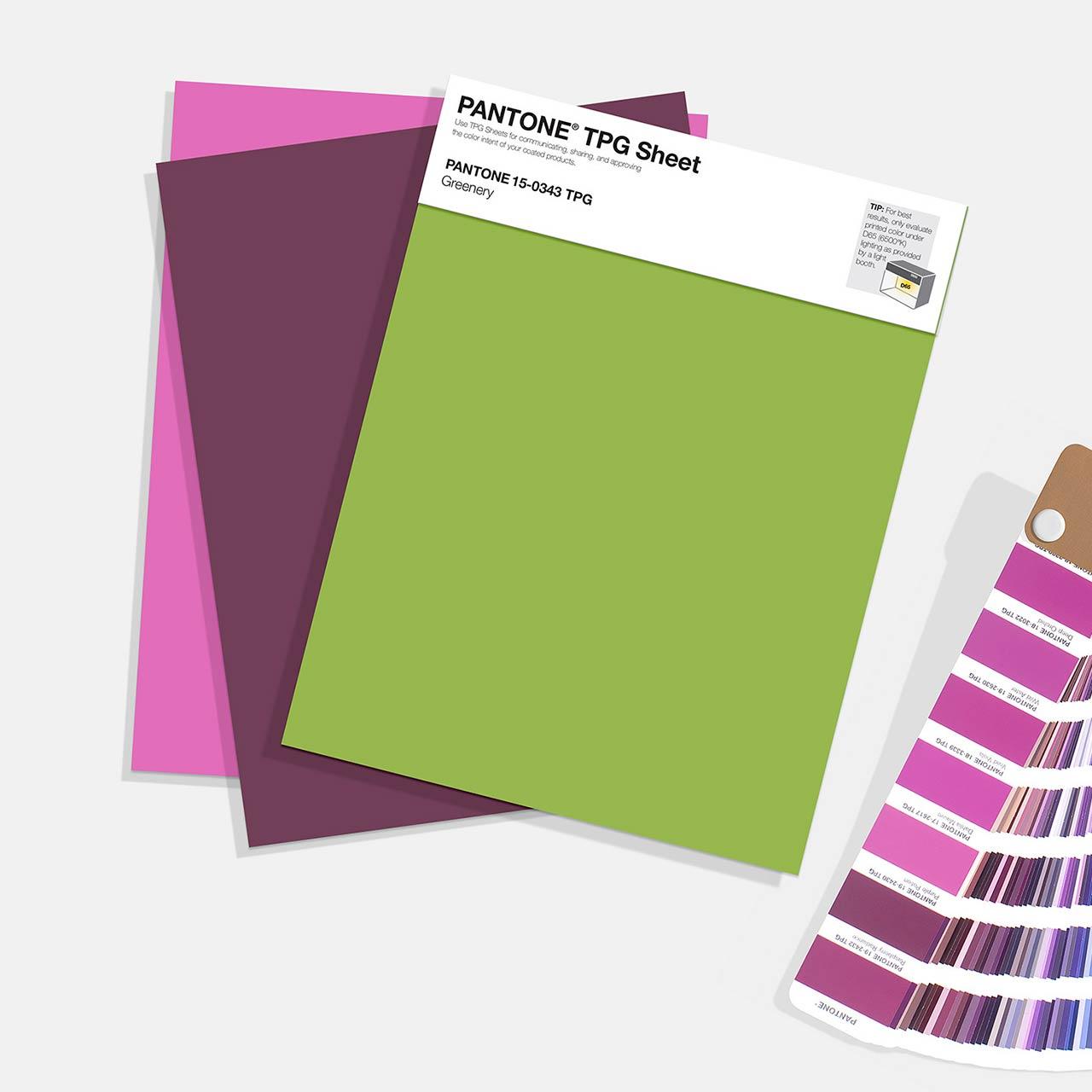 TPG Sheets - Pantone