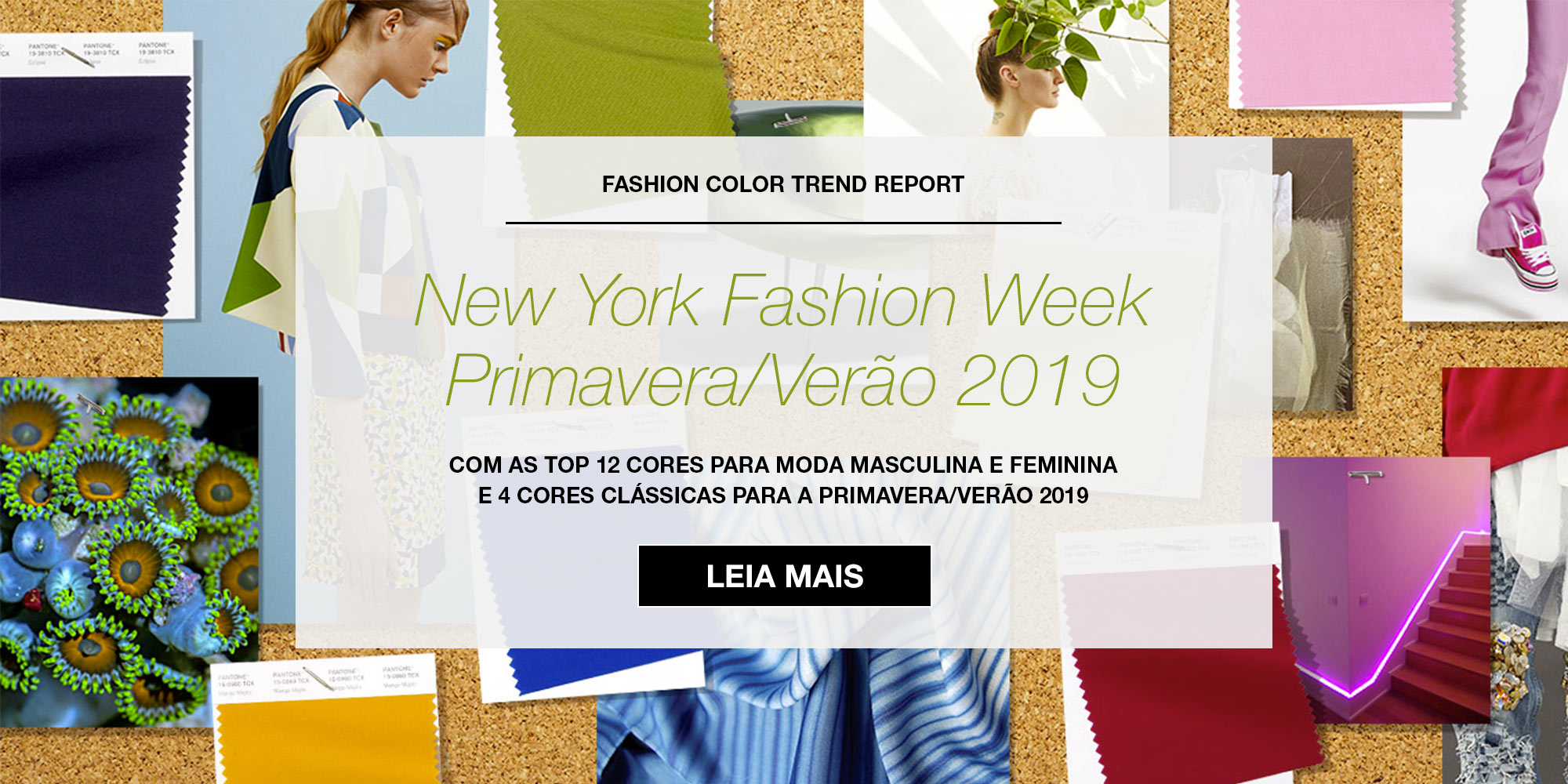 Fashion Color Report - Primavera/Verão 2019