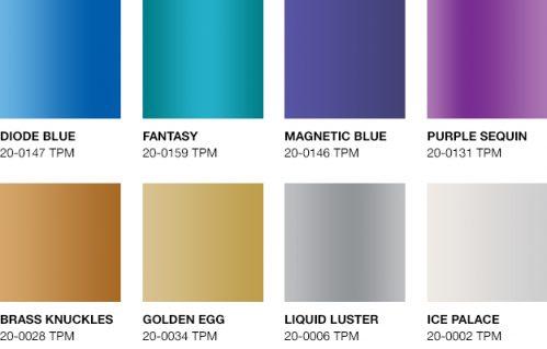 MetallicShimmers Palette