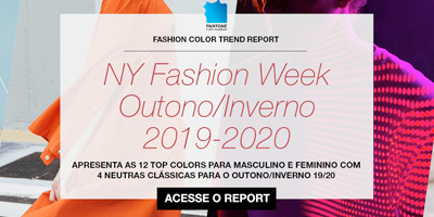 Pantone FCR New York - Outono/Inverno 2019/2020
